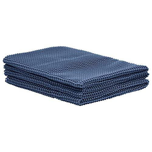 Tidyard Alfombra para Tienda de campaña Alfombra de Tienda Exterior Manta de Picnic 300x500cm Azul