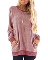 Lightweight And Soft Material. Size:S-2XL.Color: Red, Blue, Dark Grey, Khaki. With Pocket And Color Block Designed Makes You More Fashion And Charming. Long Sleeve,Round Neck And Soft Material Makes You More Comfortable. Casual Style,Fit For Date,Din...