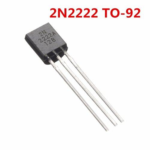 TuToy 40V 0,8A Npn Transistoren 2N2222A 2N2222 To-92 Für Hochgeschwindigkeitsschaltung
