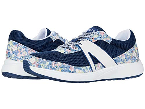 TRAQ BY ALEGRIA Qarma 2 Womens Smart Walking Shoe Blue Scale 10 M US