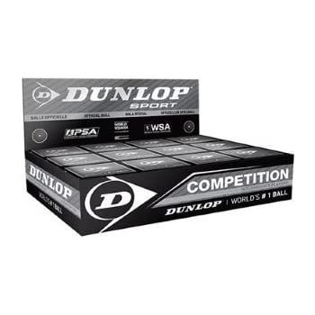Dunlop Competition - Pelota de squash (12 unidades)