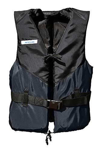 Navyline 50N Schwimmweste Damen Herren, Farbe:Navyblau, Größe:90kg+