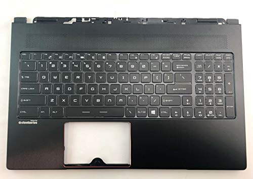 957-16K21E-C11 957-16K21E-C11-Replacement for RB MSI Palmrest Keyboard for Stealth Pro GS63VR