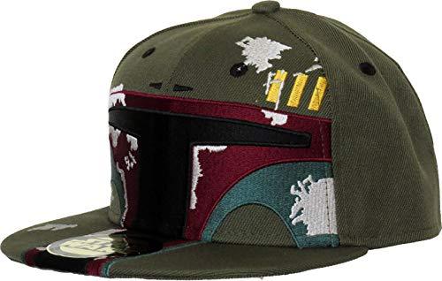 Star Wars Boba Fett Helmet Snapback Cap