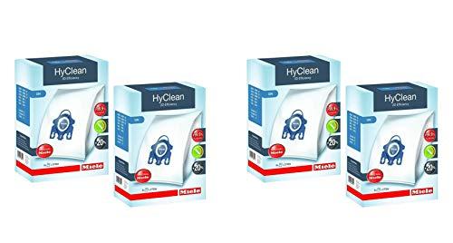Home & Appliances Miele GN - Bolsas para Polvo (2 Paquetes = 8 Bolsas y 4 filtros)