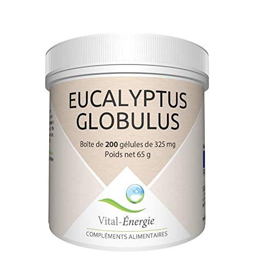 Vital-Energie Eukalyptus Globulus Nahrungsergänzungsmittel, 200 Kapseln