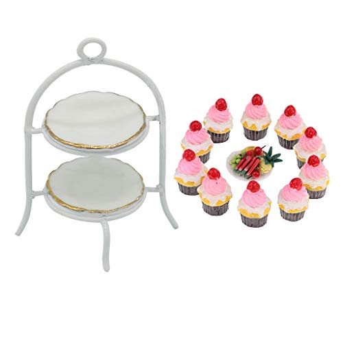 Hellery Cake Stand And Cake Set for Kids Gift
