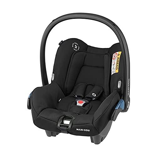 Maxi-Cosi Cosi Citi Siège Auto bébé Groupe 0+ , Dos Route, de la Naissance à 12 Mois, 0-12kg, Essential Black (Noir)