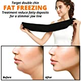 CRYOBOD Double Chin Face Slimming Wrap – Premium Fat Freezing Chin Reducer, Frozen Face Slimmer Wrap – Targets Stubborn Chin & Neck Fat, Helps Tone Skin, Sculpt Cellulite & Chin Fat, Face Lift Band