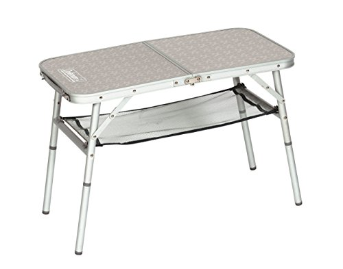 Coleman 204395 Campingtisch Mini Camp Table (80 x 40 x 31,5/55 cm)