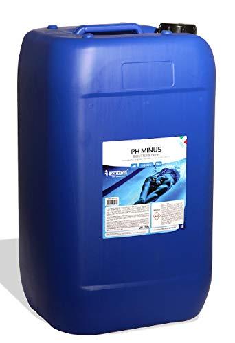 San Marco Correttore PH Meno Minus Riduttore Liquido per Acqua Piscina in Fusto da 25 lt.