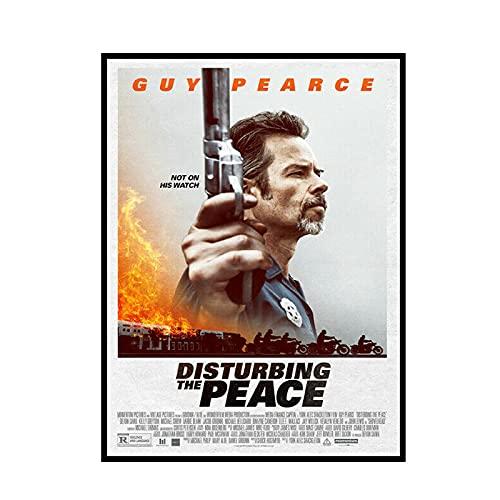 DuanWu Disturbing The Peace Film Poster Und Drucke Leinwand Gemälde Wandkunst Bilder Innendekor -50X70 cm Kein Rahmen 1 Stück