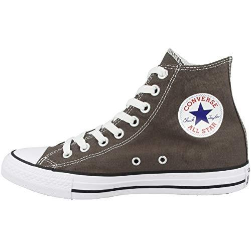 Converse 1J793 Chucks Charcoal Grey Chuck Taylor all Star Hi, Taglia:38