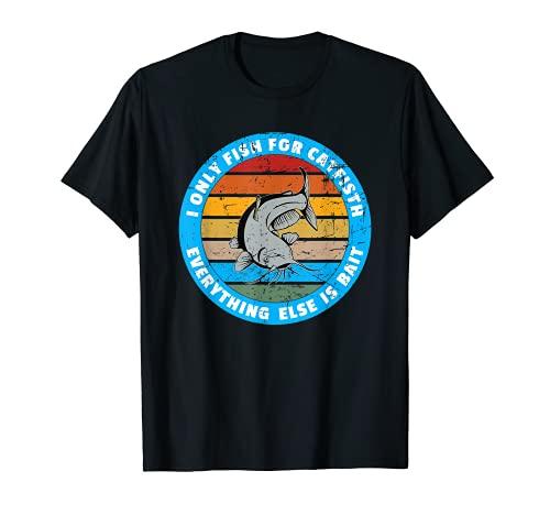 Hilarious Fishing Meme Bagre Cebo Catfishing Fans Camiseta