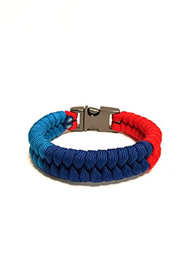 TRU550 M Series Performance Paracord Survival Bracelet with Stainless Steel Buckle (Size 8.5)