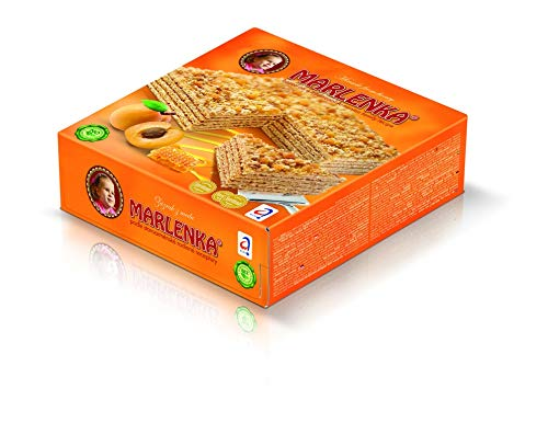 Marlenka - Honey Cake with Apricots 800g
