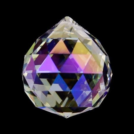 Bola de cristal arcoíris nácar calidad AAA.