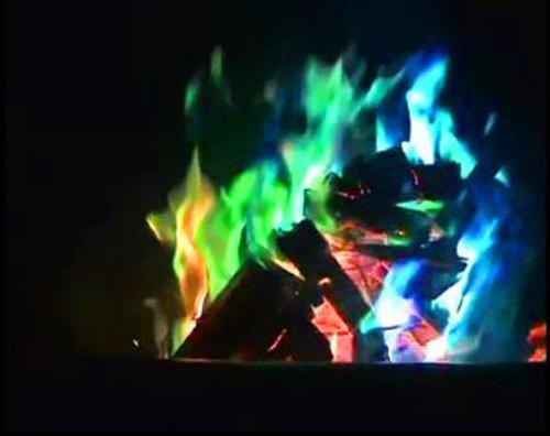 DDI Mystical Fire Flame Coloration des paquets dure 1 Hour- Coque de 50