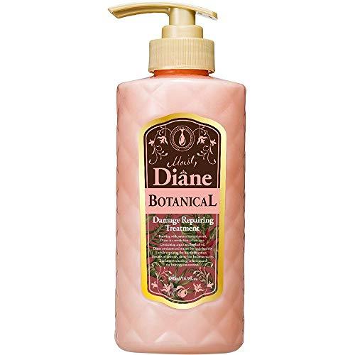 Moist Diane Botanical Hair Ttreatment 480ml - Damage Repairing (Green Tea Set)