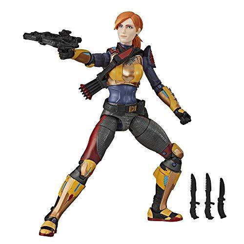 G.I. Joe E8495 Figura de acción Scarlett Serie clasificada Coleccionable 05 Juguete Premium con...