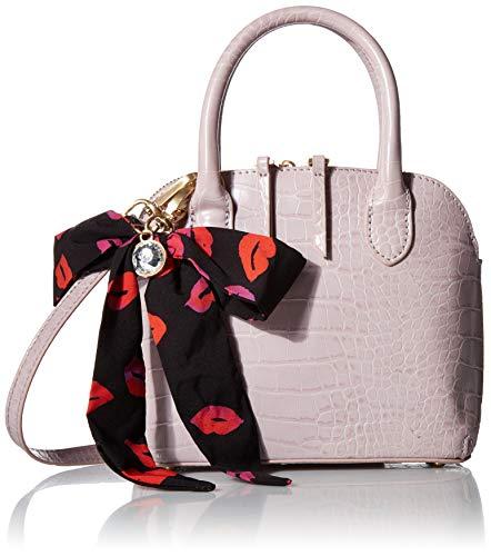Betsey Johnson Women's Pretty Petite Dome Satchel Bag, Blush, One Size