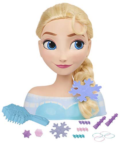IMC Toys Frozen - Busto peinable de Elsa con accesorios 16149