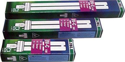 JBL UV-C Brenner 60305 Ersatzlampe für Wasserklärer AquaCristal, 5 W