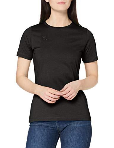 erima Damen T-Shirt Teamsport, schwarz, 48, 208370
