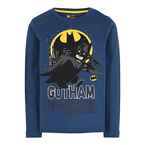 LEGO Batman Jungen Langarmshirt Camiseta, 547, 140 para Niños