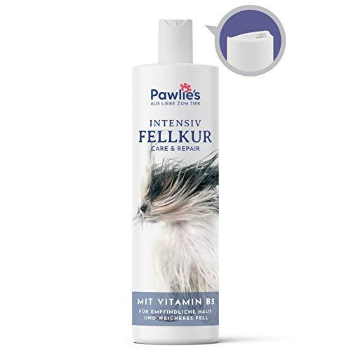 Pawlie's Natürlicher Conditioner für Hunde mit Pro-Vitamin B5 | Fellpflege Hund, Hunde Conditioner, Dog Conditioner, Detangler, Conditioner Hund, Verfiltztes Fell Katze, Spülung für Hunde | 250 ml