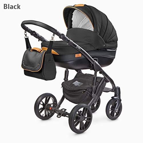 chariot 3 pièces complet Couleur Noir comprend groupe 0 camini