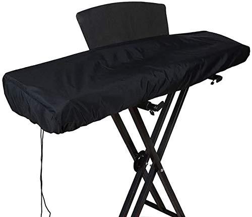Abdeckung für Keyboard, elektronisches Klavier mit 88 Tasten, staubdicht, wasserdicht, mit Kordelzug, Größe: 134 x 28 x 19 cm