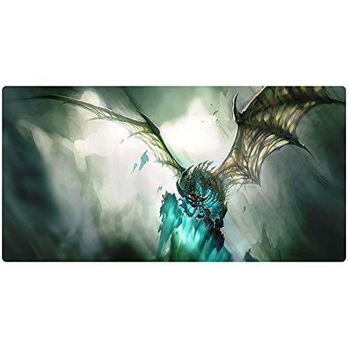 Alfombrilla de ratón grande para juegos World of Warcraft WOW para teclado de mesa de café, para computadora de escritorio, PC, portátil, alfombrilla de ratón (color 9, tamaño: 900 x 400 x 3 mm)