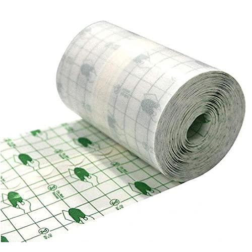 EElabper Wasserdicht Transparent Film Roll 15cmx10m Klebeband Medizinischer Wundverband Fixer Gips Stretch Fixation Tape Tattoo Nachsorge Verband Anti-allergie-selbst Paste