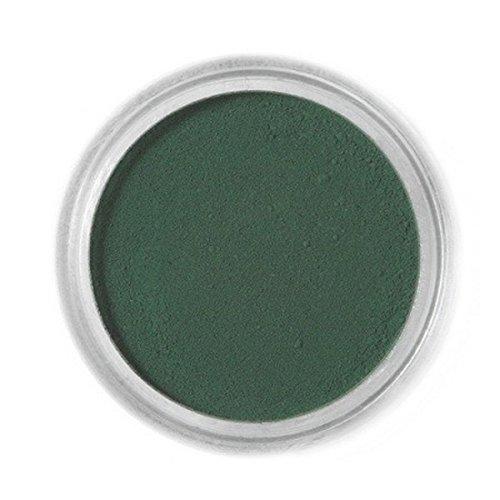 Essbaren Puderfarbe Fractal - dunkelgrün, Sötét zöld (1,5 g)