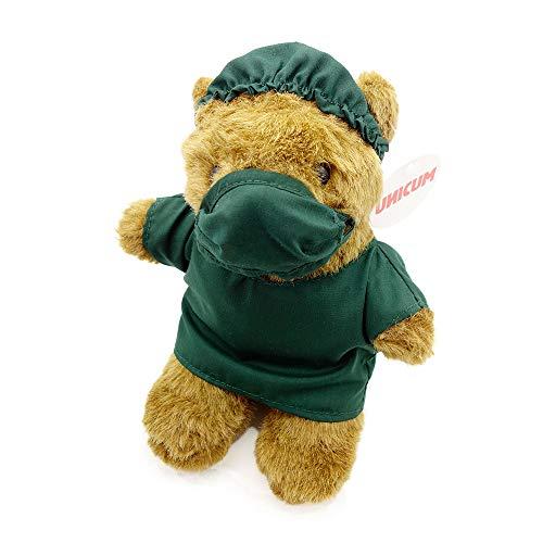 UNICUM Medizinbär | Geschenk für Mediziner Arzt Krankenschwester Student und Studentin | Uni Abschluss Prüfung | Teddybär