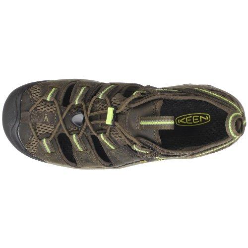 KEEN Women's Arroyo II Hiking Sandal,Chocolate Chip/Sap Green,8.5 M US
