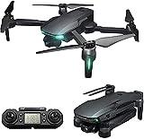 rzoizwko Drone, Drone con Telecamera a 3 Assi 6K 5G WiFi GPS FPV Professional 2KM 30 Minuti RC Mini Drone Quadricottero Motore brushless, 2Batteria