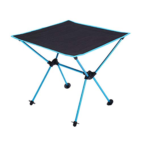 LJQLXJ Mesas Plegables Roll Camping Table Portable Picnic Backpacking Folding Table Outdoor Fishing Lightweight Garden...