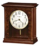 Howard Miller Candice Mantel Clock 635-131 – Americana Cherry Home Decor with Quartz, Dual-Chime Movement and Volume Control