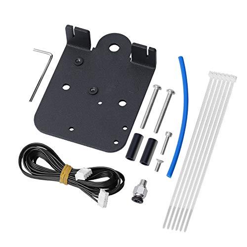 UniTak3D Conversión de Extrusora de Accionamiento Directo Aleación de Aluminio Kits de Actualización Placa Adaptadora Direct Hotend para Ender 3 Ender 3 Pro CR 10, Compatible con Filamento de TPU