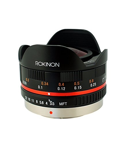 Rokinon FE75MFT-B 7.5mm F3.5 UMC Fisheye Lens for...