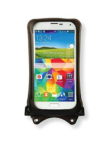 Acer Liquid Jade Z, M320, Z320, Z520, Zest Handyhülle/Handytasche - wasserdicht - Schwarz (Doppel-Klettverschluss, IPX8-Zertifizierung zum Schutz vor Wasser bis 10 m Tiefe)