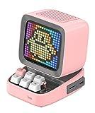 Divoom DITOO レトロPCモニターデザイン Bluetoothスピーカー PIXELART ドット絵 (ピンク)