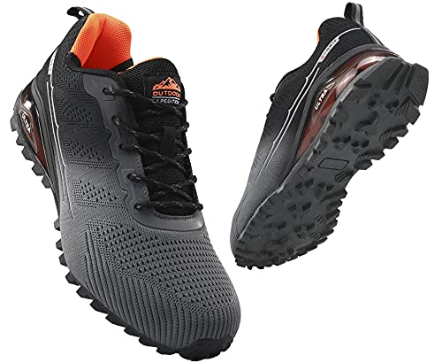COOJOY Mens Trail Running Shoes ...