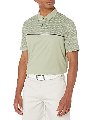 Oakley Men's Hexad Stripe RC Polo, Uniform Green, XX-Large