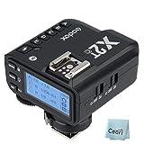 【GODOX 正規代理店/日本語説明書付】Godox X2T-C TTLワイヤレスフラッシュトリガー Canon カメラ対応品 1 / 8000s HSS機能 5つの専用グループボタン、3つ対応の機能ボタンでクイック設定可能