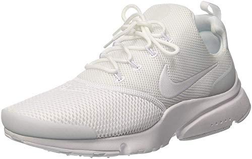 Nike Presto Fly, Zapatillas de Gimnasia para Hombre, Blanco (White/White/White 100), 45.5 EU