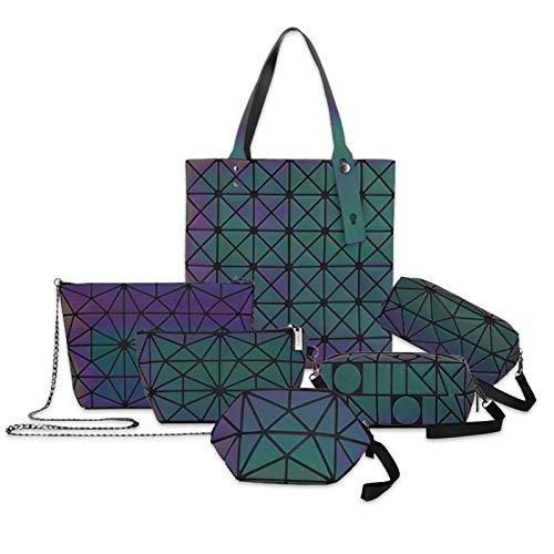 Bolsa de Mano portátil Linger Bag Cosmetic Bag Juego de Cubos de Rubik, Juego de Seis Piezas