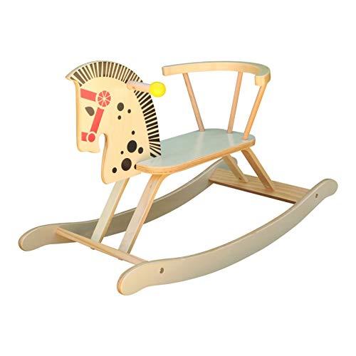 Unbekannt Charl's Toys HR103 Schaukelpferd aus Holz